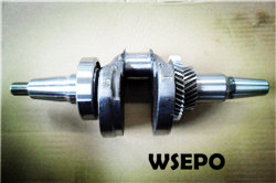 Wholesale 190F 420cc Gas Engine Parts,Crankshaft(tapered)